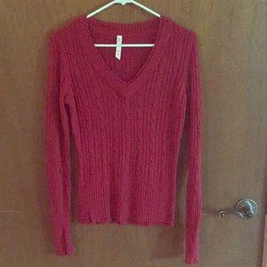 Long sleeve super soft light weight sweater